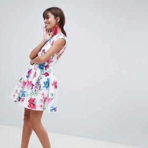 Summer flirty dress